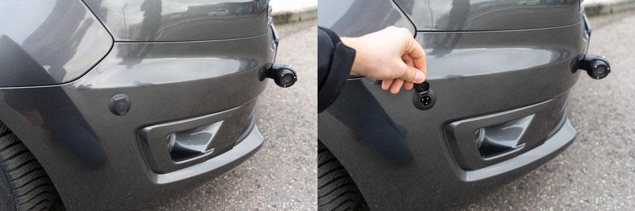 Zusätzlicher Ladeanschluss Fahrzeugbatterie behindertenumbau Sodermanns