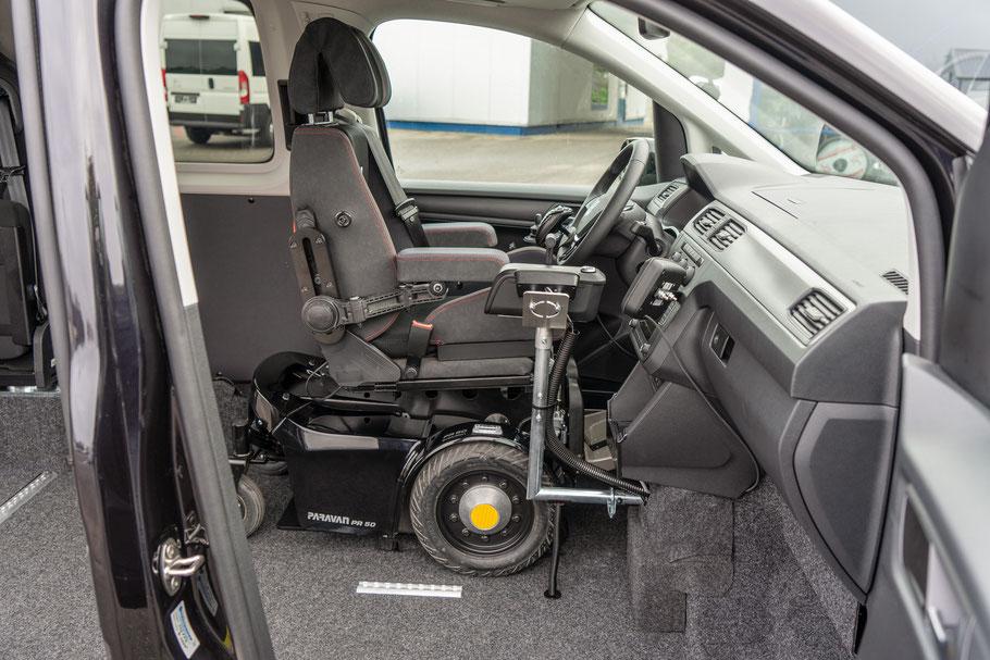 PR50 Paravan Elektrorollstuhl Sodermanns