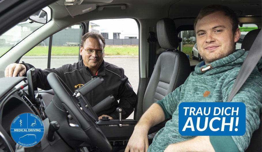 Querschnitt umbau auto fahren behindert behinderung tetraplegie paraplegie führerschein sodermanns
