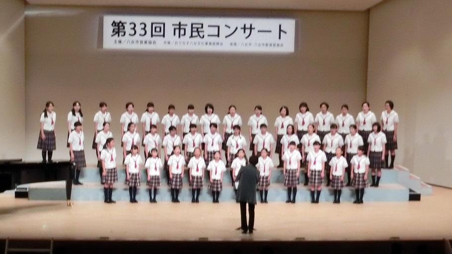 <八女ジュニア合唱団>