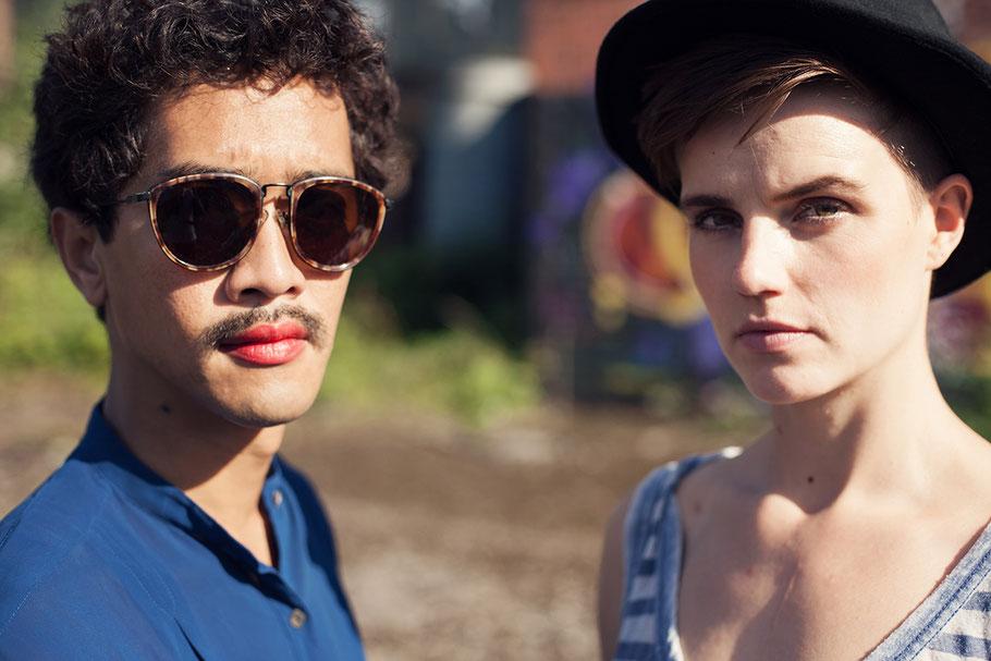 Foto aus einer Portraitserie von Diar und Marije aus Köln