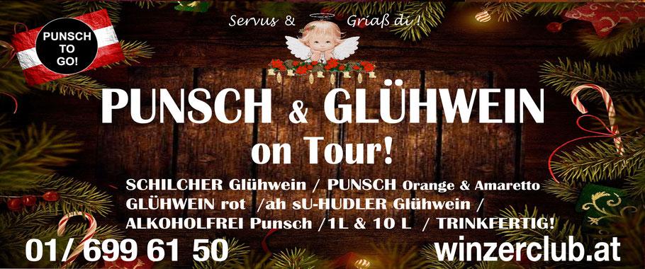 Punsch in Wien, Glühwein in Wien, Zustellung, Selbstabholung, Preise, Schilcher Glühwein, Rose Glühwein, neu, gut besser, Rotwein, trinkfertig