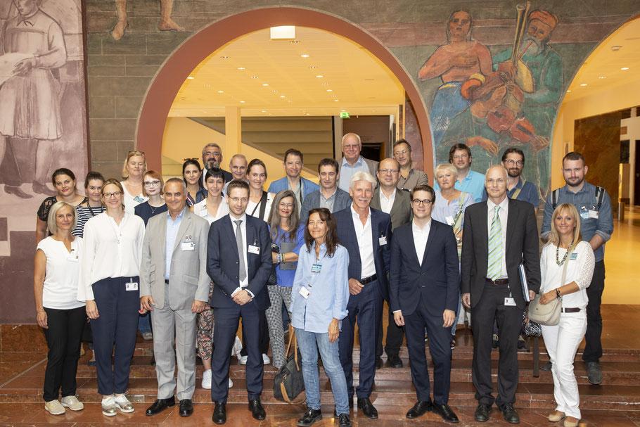 Pressevertreter der Siemens Blogger- und Pressereise