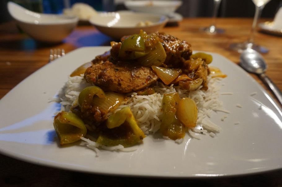Karahi Murgh - das beliebteste Gericht bei Surya