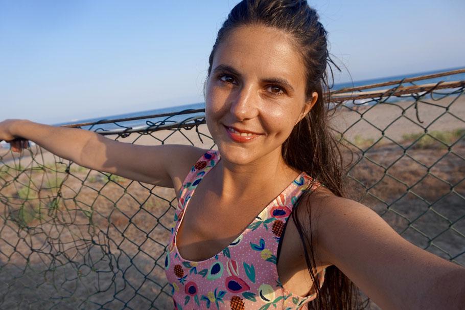 Der Strand von Gava - unweit der Stadt Barcelona