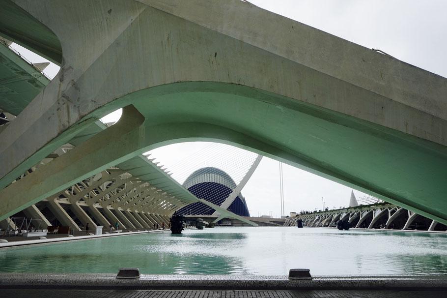 Die Ciutat de les Arts i les Ciències - ein wunderbarer Ort der Wissenschaften und der Künste