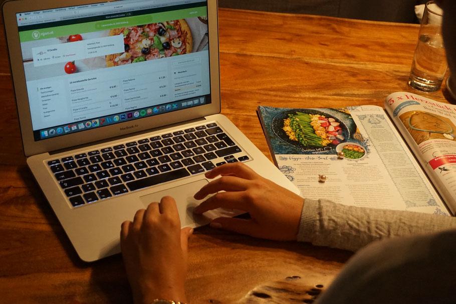 Wenn es darum geht Essen zu bestellen gibt es für mich nur eine Adresse: Mjam.net