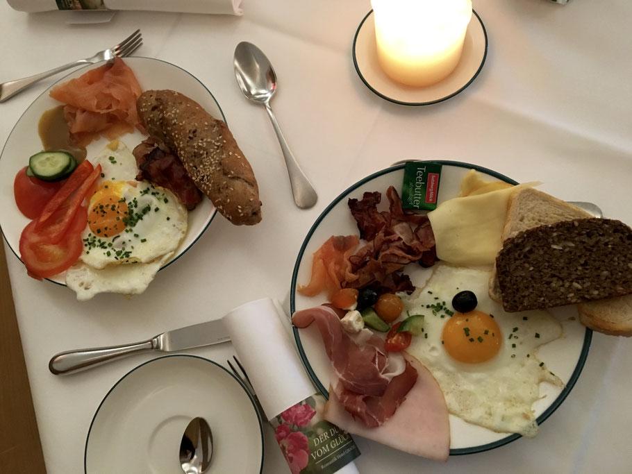 Das Gmachl bietet ein Frühstück mit allem was das Herz begehrt!