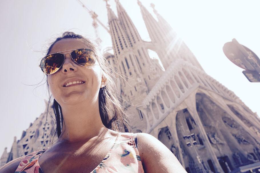 La Sagrada Familia – mit eines der beeindruckendsten Bauwerke die ich bisher gesehen habe, von Antoni Gaudí