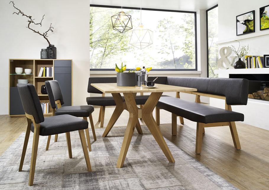 esszimmer tischlerei burgstaller st agatha. Black Bedroom Furniture Sets. Home Design Ideas