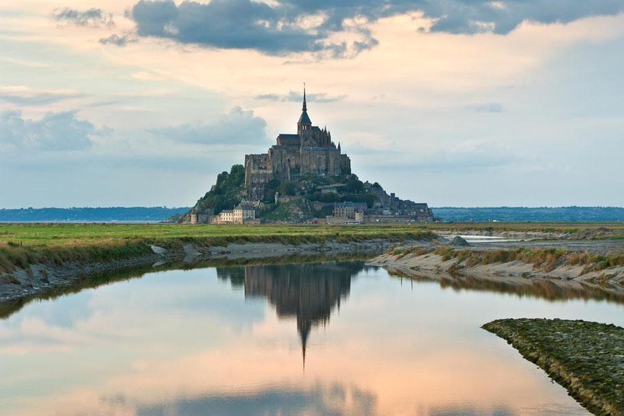 Le Mont Saint Michel, situé à 45 minutes de Coutances