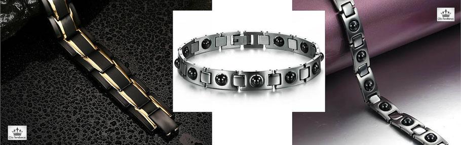 Bracelet santé homme magnetothérapie