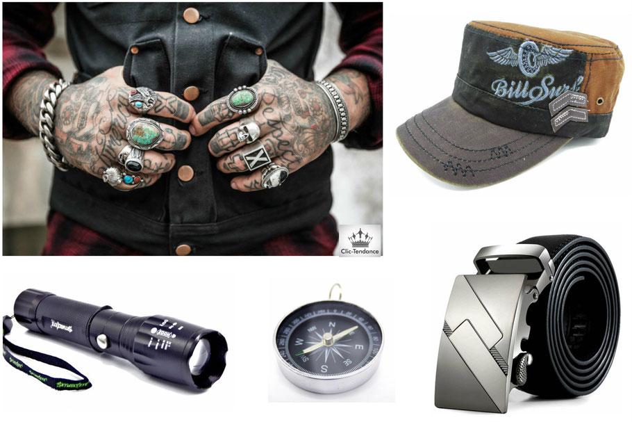 Accessoires de Mode et Ceinture Homme Tendance