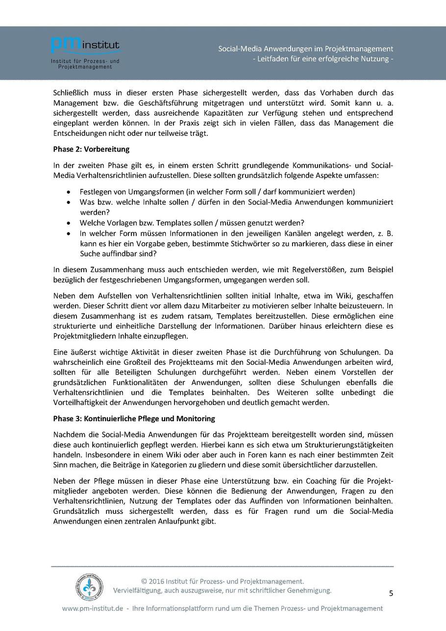 Social-Media Anwendungen im Projektmanagement - Institut für Prozess ...