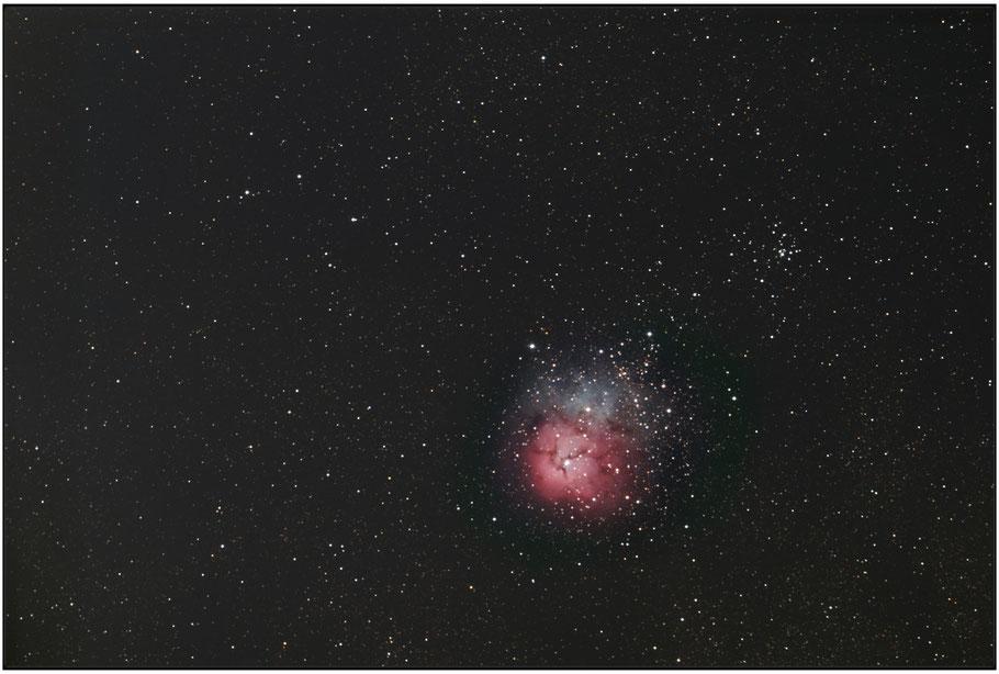 Messier 20 Trifidnebula / NGC 6514  - M 20 Trifidnebel  MeixnerObservatorium