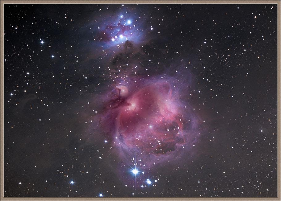 Messier 42 Orionnebel - M42 Orionnebula -  NGC 1976 • GC 1179 • h 360 • LBN 974  - MeixnerObservatorium
