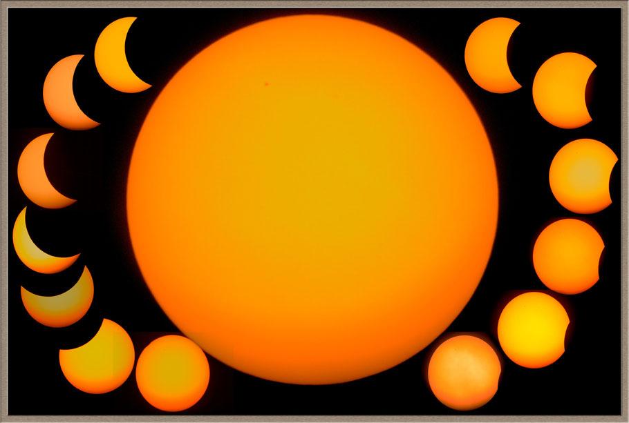 partielle Sonnenfinsternis / partial Solar Eclipse - 20. März 2015   MeixnerObservatorium