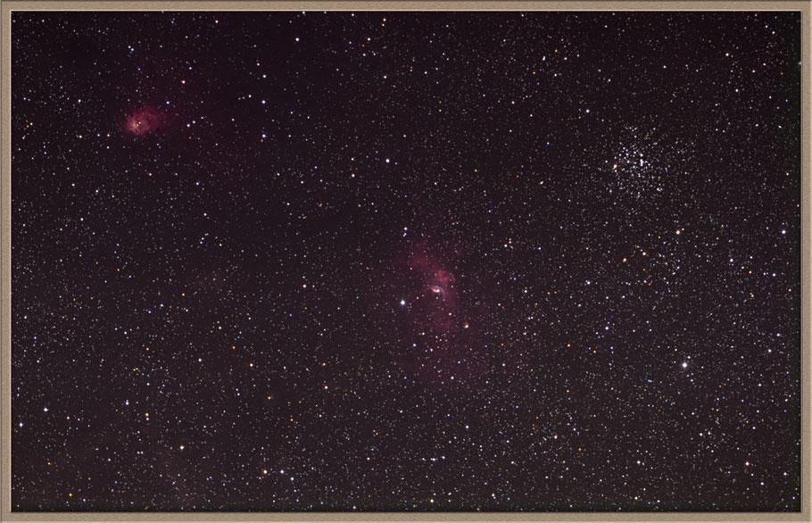 NGC 7635 - Blasen-Nebel - Bubble-Nebula • GC 4947 • H 4.52 • h 2235 • LBN 549 • Sh2-162 MeixnerObservatorium