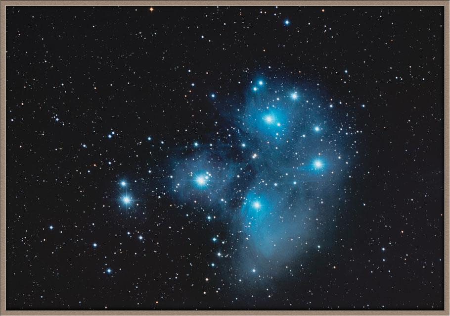 Messier 45 - Plejaden - M45 Pleiades  - C 0344+239 • OCl 421 • Mel 22 • H 0346+24  MeixnerObservatorium