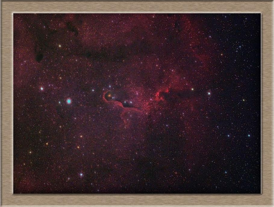 IC 1396A - The Elephant Trunk Nebula - Elefantenrüsselnebel -LBN 452  MeixnerObservatorium