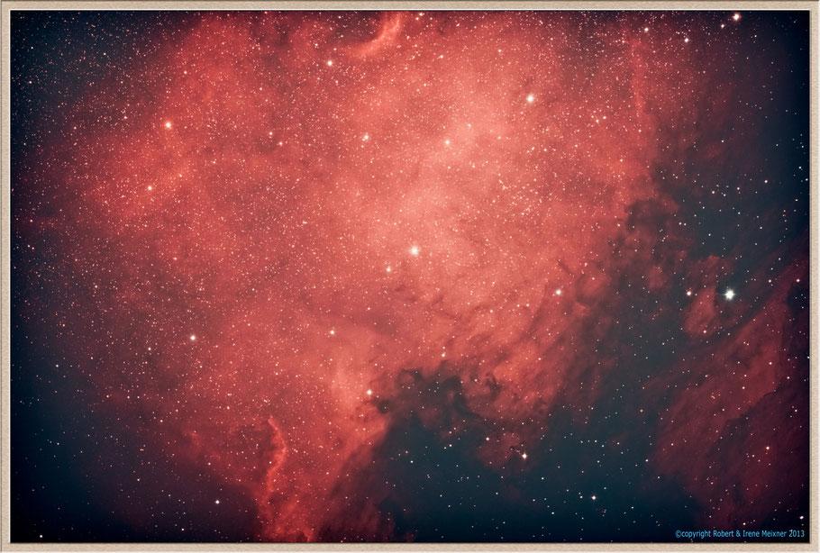 NGC 7000 - Nordamerika-Nebel - North America Nebula - SH 2-117 MeixnerObservatorium