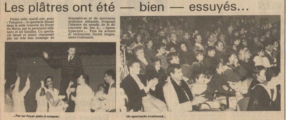 Article du Télégramme de Brest