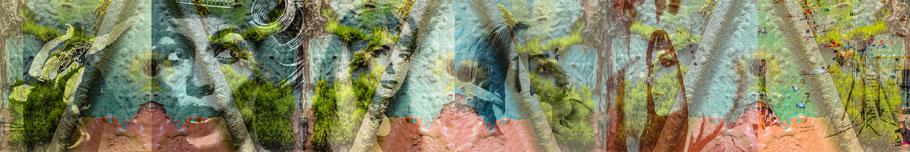 DreamLand VI, V, IV, III, II, I, Canvas, je 80 x 80 cm