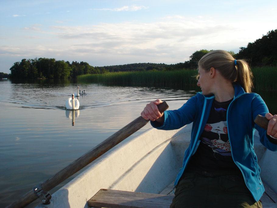 Ruderboot - Rudern macht Spaß und ist gesund