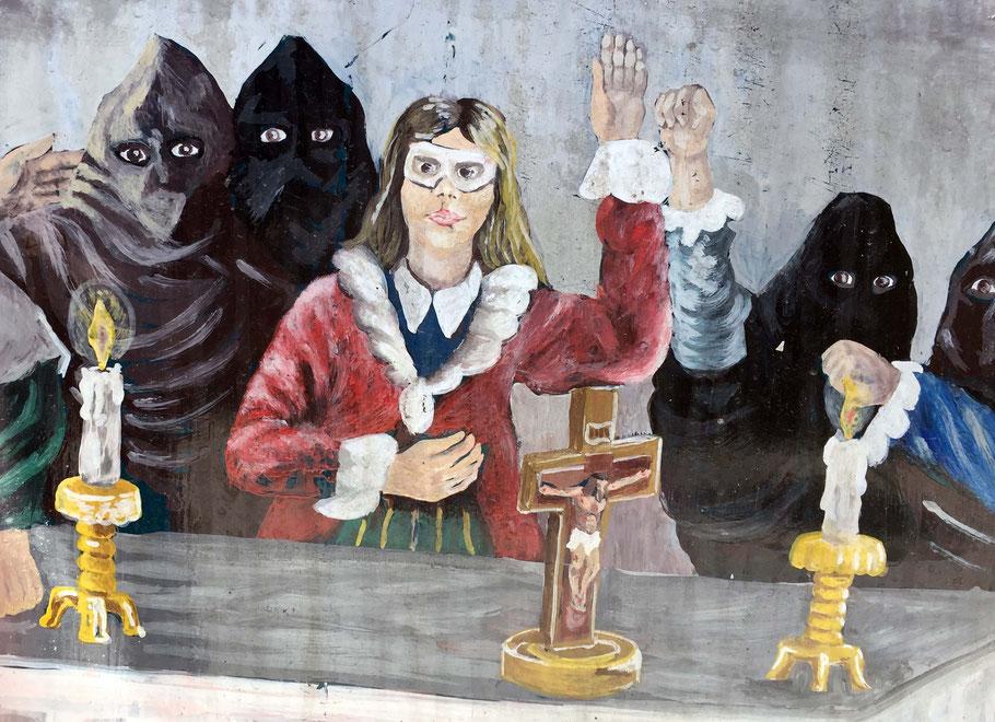 Les anciennes pratiques judiciaires obscures en Sicile