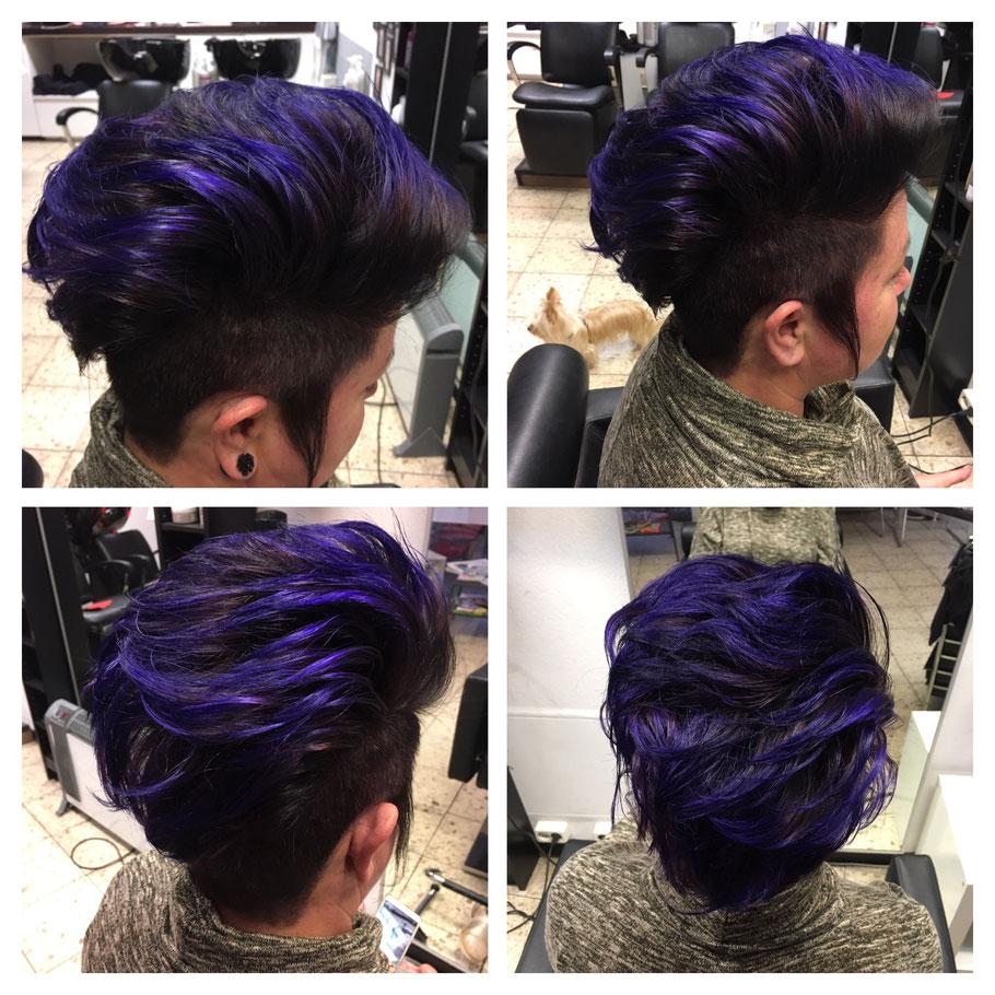 Graue haare färben directions