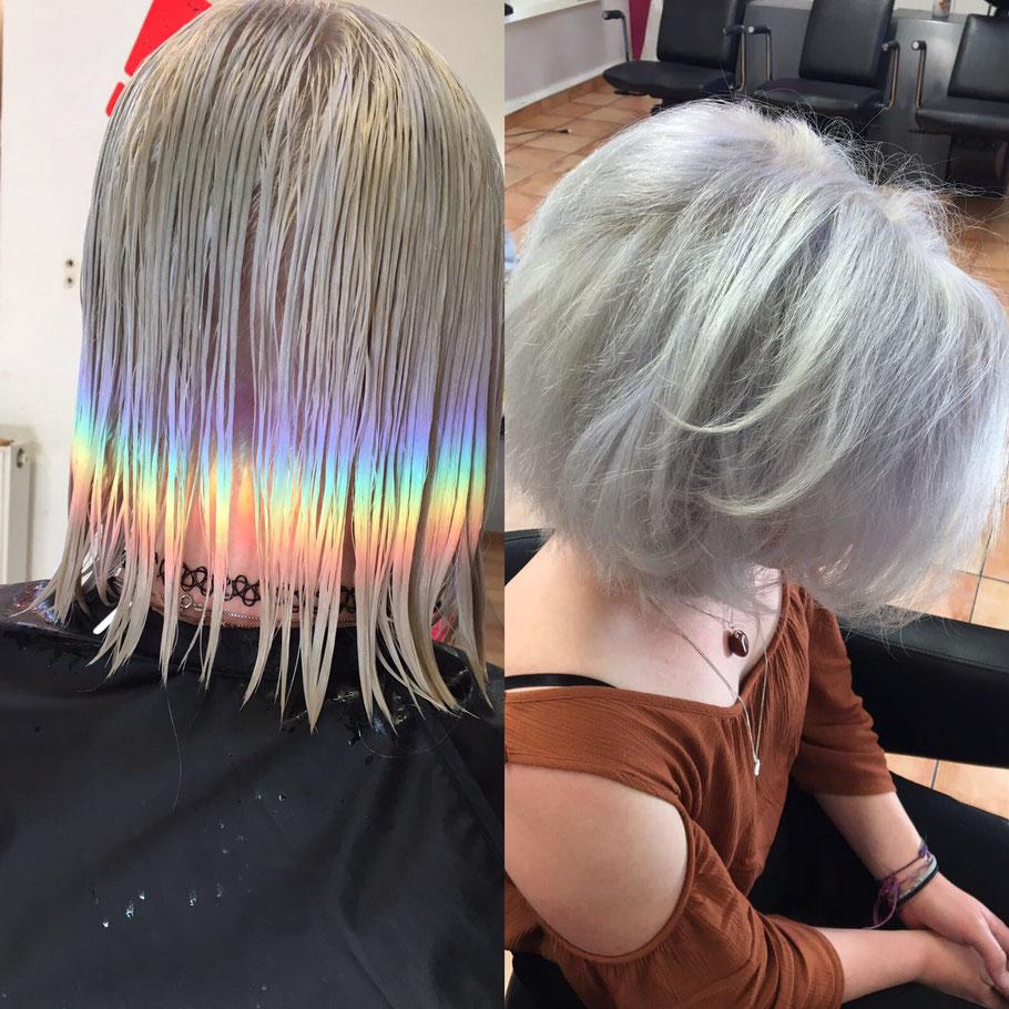 Silver Denim Granny Hair 5x Salon In Deiner Stadt Ohne Termin