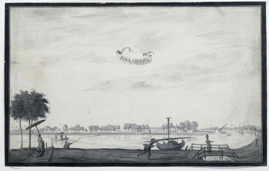Sourabaya, A. de Nelly (mogelijk), 1750 - 1800 , Rijksmuseum Amsterdam
