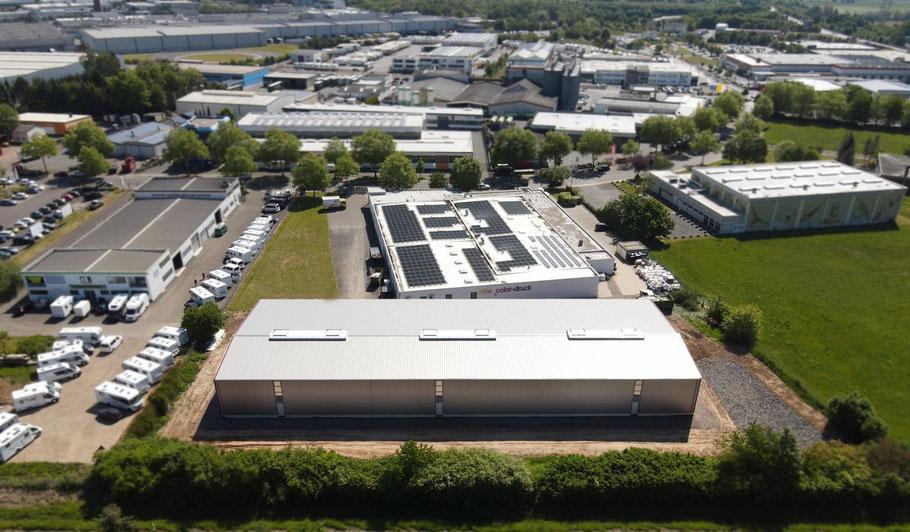 Unsere Produktionsgebäude in Wittlich, Juni 2020