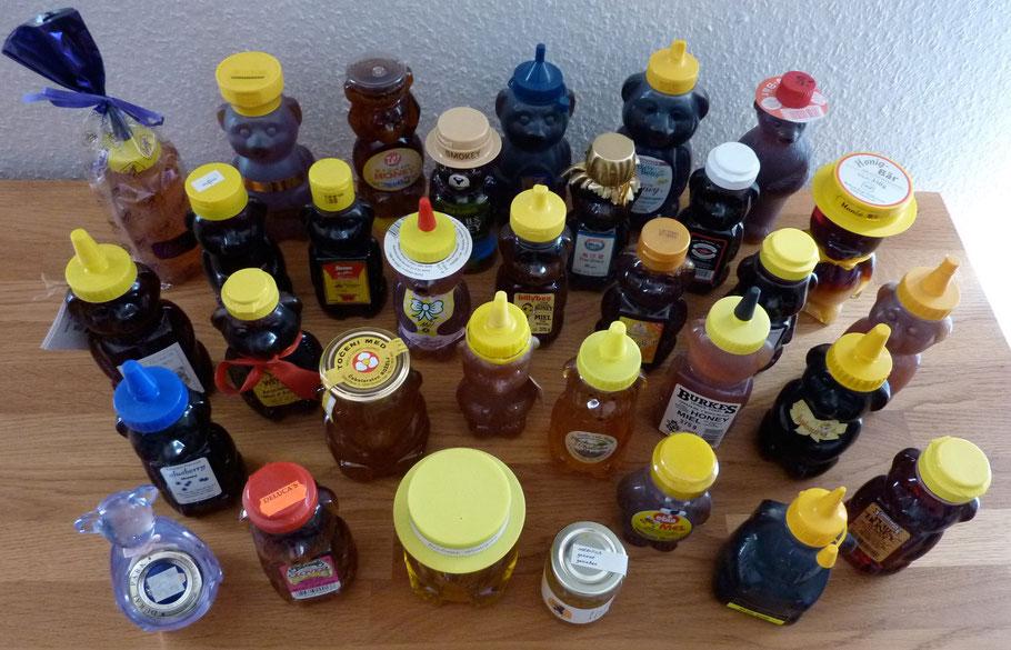 Honigbären aus aller Welt