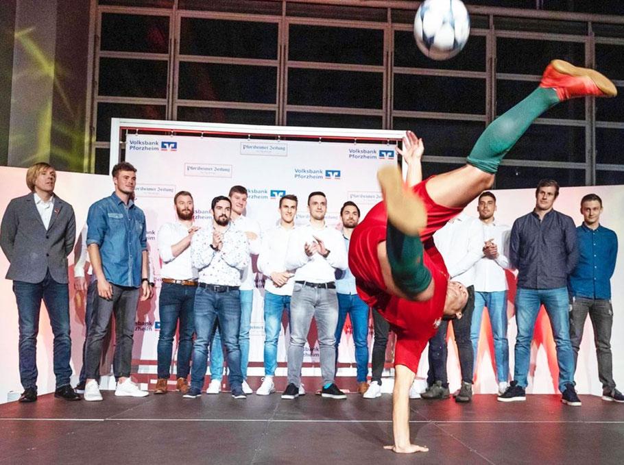 Fussball Freestyle Lösung auf Ihrem Kongress