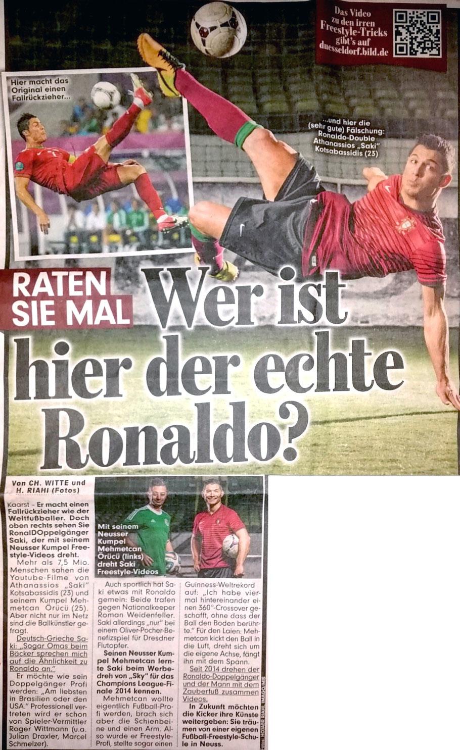 BILD - Wer ist hier der echte Ronaldo?