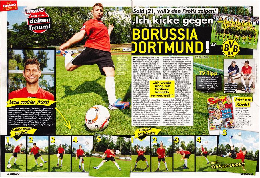 BRAVO - Saki - Ich kicke gegen Borussia Dortmund