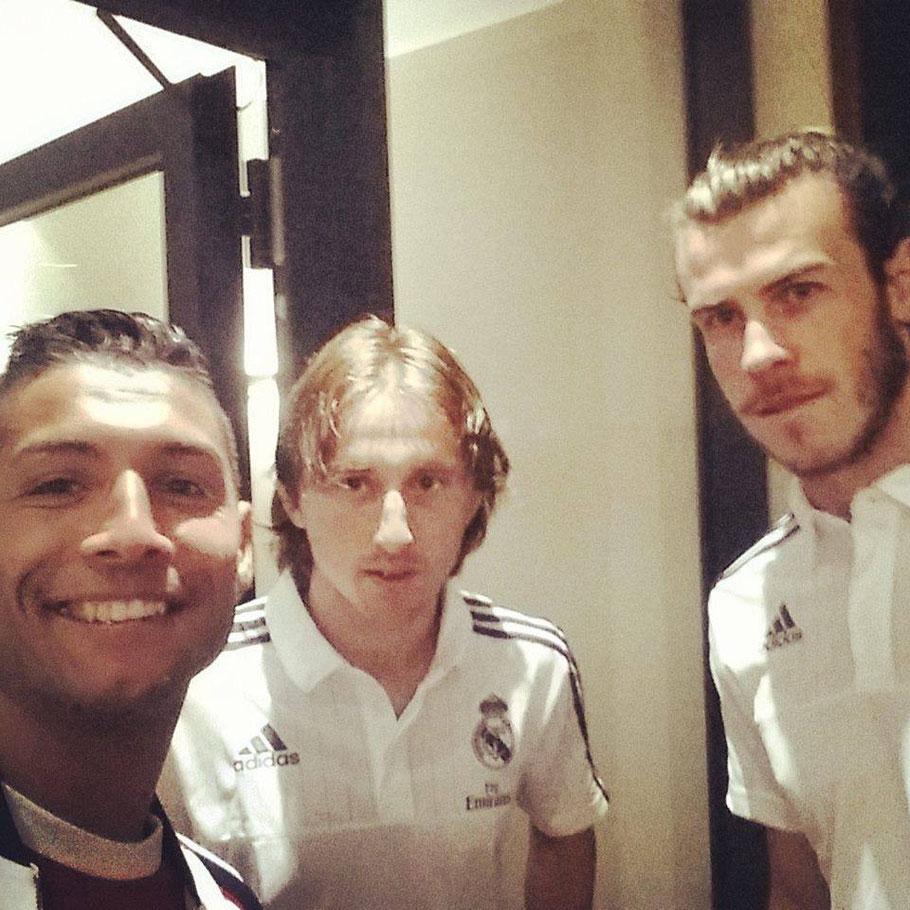 Saki - Luka Modrić - Gareth Bale