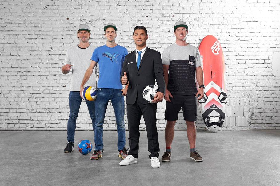 Fussball Freestyler für Sponsoring
