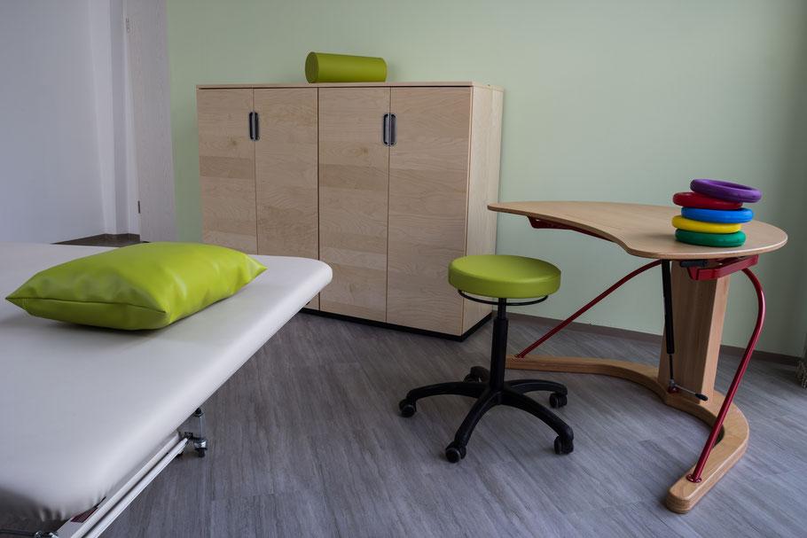 Behandlungsraum Orthopädie, Ergotherapie Marc Menge in Amberg