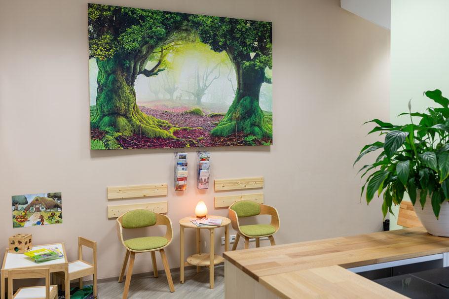 Wartebereich Ergotherapie Marc Menge in Amberg