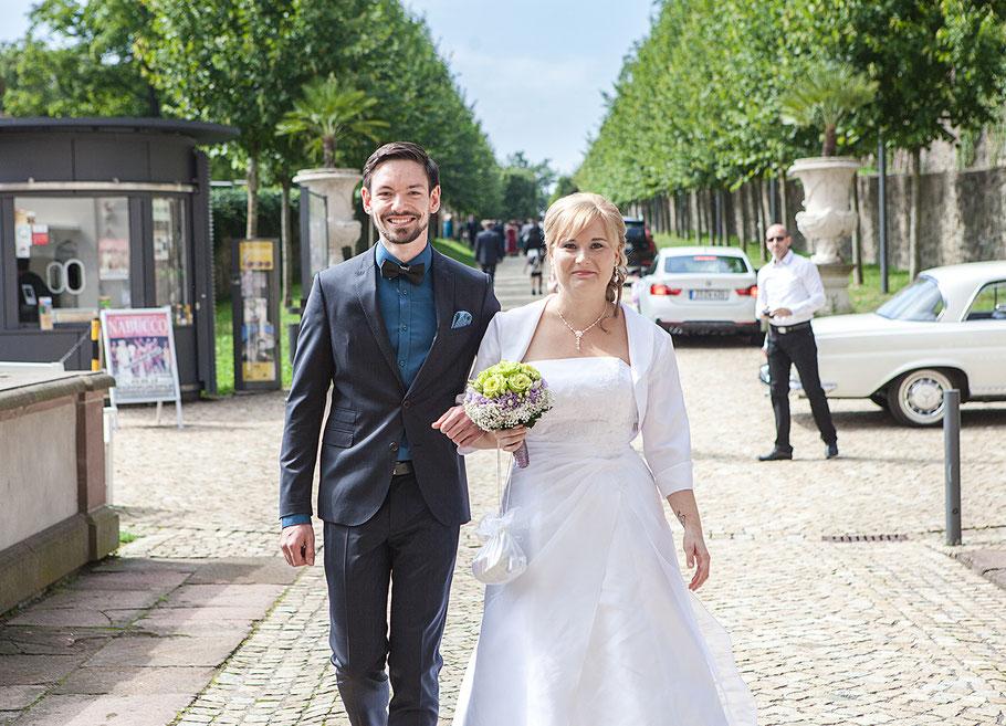 Hochzeitsfotografin Schloß Lichtenwalde