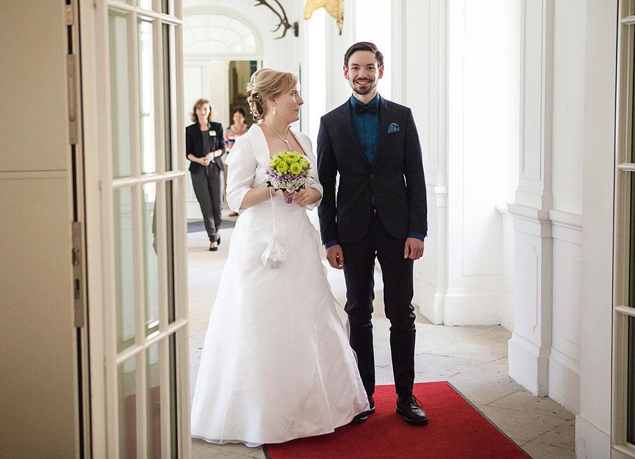 Hochzeitsfotos Schloss Lichtenwalde