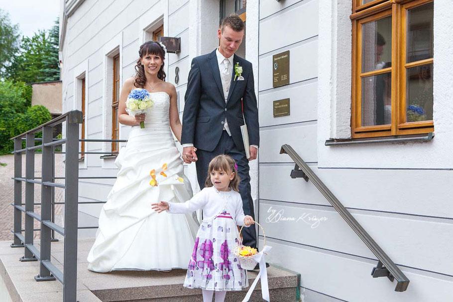 Hochzeitsfotos Standesamt Mittweida