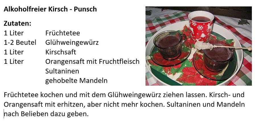 Alkoholfreier Kirsch Punsch Rezept