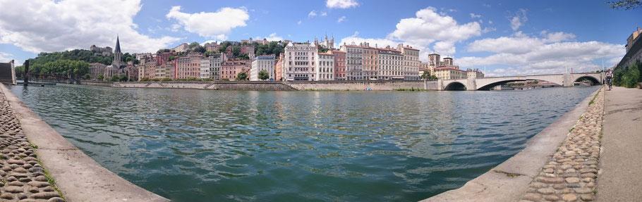 Lyon, Berges de Saônes, Photographie Adrien Féraud ®