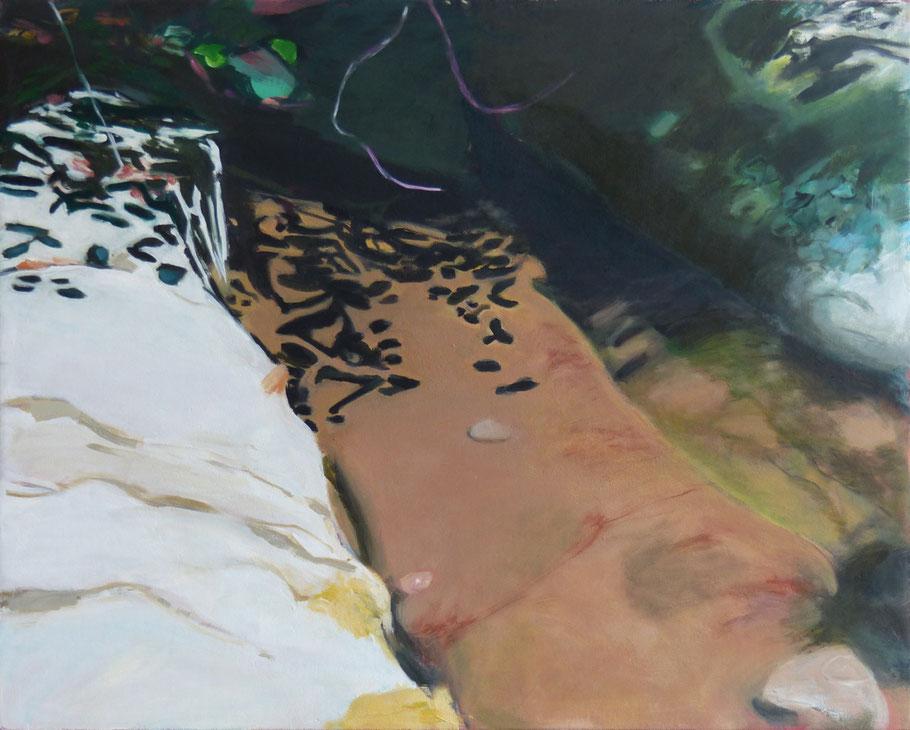 4 Ebenen 2014 80 x 100 cm Öl / Leinwand