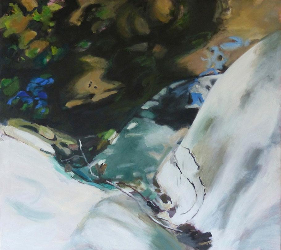 fiume No.4 2013 90 x 100 cm Öl / Leinwand