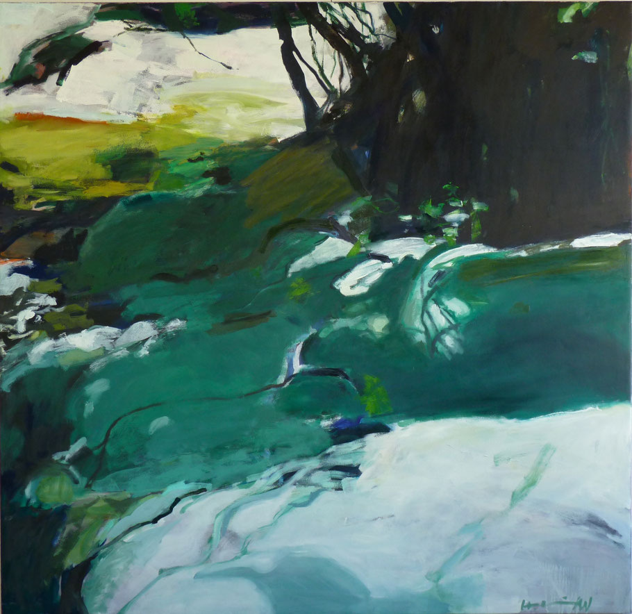 Seta 2011 160 x 150 cm Öl / Leinwand