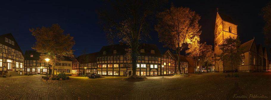 Das Haller Herz - Einer der schönsten Plätze in Halle Westfalen